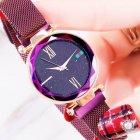 Женские часы Starry Sky Watch на магнитной застёжке Фиолетовые - изображение 3