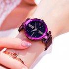Женские часы Starry Sky Watch на магнитной застёжке Фиолетовые - изображение 4
