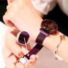 Женские часы Starry Sky Watch на магнитной застёжке Фиолетовые - изображение 5