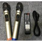 Портативная акустическа система с 2мя беспроводными микрофонами 3000Вт с цветомузыкой Temeisheng (TMS 802)Черная - изображение 8