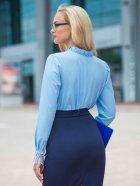 Блузка Dressa 14292 48 Блакитна (2000000806884) - зображення 2