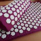 Набір килимок акупунктурний масажний + подушка - зображення 4
