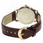 Чоловічі годинники SWIDU SWI-018 Brown + White - зображення 3