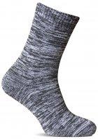 Набор махровых носков Лео Лайкра Меланж 40-42 3 пары Серый меланж (ROZ6400015802) - изображение 1