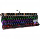Механічна ігрова клавіатура з підсвічуванням Metoo Zero X51, світчі червоні - зображення 3
