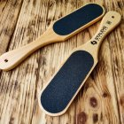Терка дерев'яна для стопи 100/180 Сталекс - зображення 1