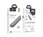 Внешний накопитель SSD Type-C HOCO UD7 128GB Grey - изображение 4