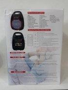 Колонка комбик Bluetooth mp3 радиомикрофон пульт цветомузыка Golon RX-820 BT (gr006278) - изображение 4
