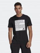 Футболка Adidas M Prvemwrng T GL3449 2XL Black (4064044248107) - зображення 1