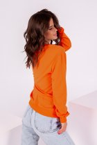 Свитшот ISSA PLUS 12213 S Оранжевый (issa2000500579349) - изображение 3