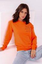 Свитшот ISSA PLUS 12213 S Оранжевый (issa2000500579349) - изображение 4
