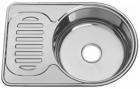 Кухонна мийка врізна з нержавіючої сталі Platinum 6745 Декор 0.8 - зображення 2