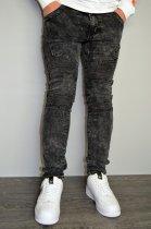Мужские джинсы hype drive темно-серый размер 33 J-021 - изображение 3