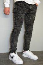 Мужские джинсы hype drive темно-серый размер 33 J-021 - изображение 4