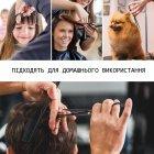 Набір Професійних Перукарських Ножиць Lantoo + Аксесуари для Стрижки Волосся: Гребінці, Затискачі, Накиду, Щітка, Органайзер (LFJ-133) - зображення 5