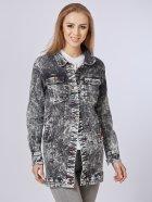 Джинсовая куртка Mila Nova Q-31 46 Черная (2000000012674) - изображение 2