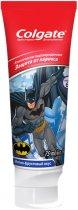 Детская зубная паста Colgate Batman защита от кариеса от 6 лет 75 мл (8714789652917 Batman) - изображение 1