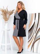 Платье New Fashion 105 54 Черно-белое (2000000489407) - изображение 3