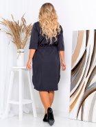 Платье New Fashion 152 54-56 Синее (2000000488981) - изображение 3