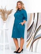 Платье New Fashion 152 50-52 Морская волна (2000000488943) - изображение 3