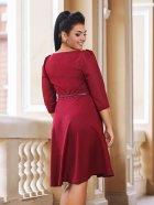 Платье DNKA с41102 56 Бордовое (2000000454528) - изображение 2