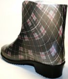 Жіночі гумові чоботи ALS 351-56-241 39 темно-сірий+коричневий+чорний ALS XA-3A 203 SB - зображення 10
