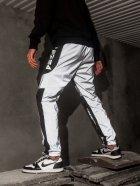 Спортивные штаны карго BEZET Black/Reflective' 21 1412 M Черные (ROZ6400031504) - изображение 5