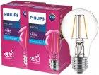 Світлодіодна лампа Philips Filament LED Classic 4-40 W A60 E27 865 CL NDAPR 2 шт. (929001974808F) - зображення 1