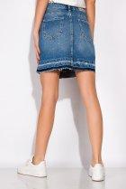 Спідниця джинсова 148P084 (Світло-синій) T&M XL Розмір колір Світло-синій - зображення 4