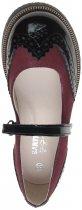 Туфлі шкіряні Bartek W-48637/SZ/L9 32 Бордові з чорним (200534911500000000010) - зображення 5