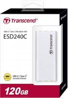 Transcend ESD240C 120GB USB 3.1 Type-C 3D NAND TLC (TS120GESD240C) External - зображення 4