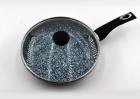 Сковорода с крышкой 24 см Benson BN-515 - изображение 1