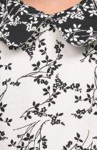 Платье ANDRE TAN Kids K30006 104 см Бело-черное (7771000072573) - изображение 4