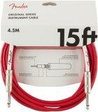 Інструментальний кабель Fender Cable Original Series 15 ft 4.5 м FRD (228444) - зображення 1