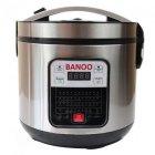 Мультиварка пароварка йогуртница Banoo 6 литров медленноварка 1500 Вт лучшая домашняя мощная помощница на кухне BN7002S - изображение 3