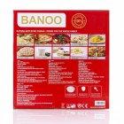 Мультиварка пароварка йогуртница Banoo 6 литров медленноварка 1500 Вт лучшая домашняя мощная помощница на кухне BN7002S - изображение 9