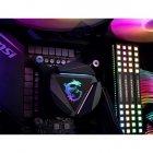 Система водяного охлаждения MSI MAG CoreLiquid 240R; Intel: LGA2066//2011/1151/1150/1155/1156/LGA1366, AMD: AM4/AM3+/AM3/AM2+/AM2/FM2+/FM2/FM1, 274x120x27 мм, 4-pin - изображение 5