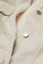 Джинсова куртка H&M 9108272dm M Світло-бежева (PS2030000050857) - зображення 5