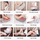 Массажёр для всего тела с подогревом Shiatsu Massager of Neck Kneading iTrendy Original 6 кнопок - изображение 6