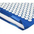 Килимок + подушка (валик) аплікатор Кузнєцова Масажний масажер для спини/ніг OSPORT (apl-011) Синій - зображення 6