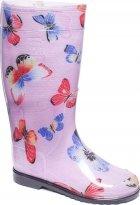 Резиновые сапоги OLDCOM Бабочка на розовом фоне 41-42 (4841347000133) - изображение 2