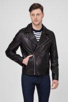 Мужская черная кожаная косуха MOTORCYCLE Calvin Klein 48 K10K103427 - изображение 1
