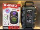 """Беспроводная аккумуляторная Bluetooth колонка Kimiso QS-4002 (8"""") с микрофоном и пультом - изображение 9"""