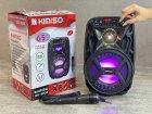"""Аккумуляторная беспроводная Bluetooth колонка Kimiso QS-3603 (6.5"""") с микрофоном и подсветкой - изображение 8"""