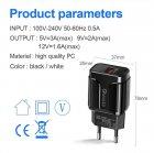 Мережевий зарядний пристрій швидка зарядка адаптер Qualcomm Quick Charge 3.0 / QC 3.0 чорний (QC-21951) - зображення 6