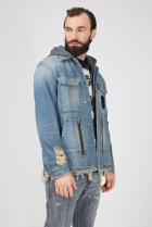 Чоловіча блакитна джинсова куртка D-SERLE Diesel S A01959 009SA - зображення 3