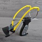 Рогатка з упором Man Kung SL06BK, чорний/жовтий - зображення 2