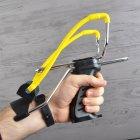 Рогатка з упором Man Kung SL06BK, чорний/жовтий - зображення 3