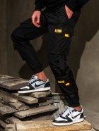 Спортивні штани BEZET Hype Black'20 1411 S Чорні (ROZ6400031858) - зображення 3