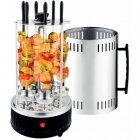 Электрическая шашлычница кухонная Crownberg CB 7416 1000 Вт 6 шампуров - изображение 6